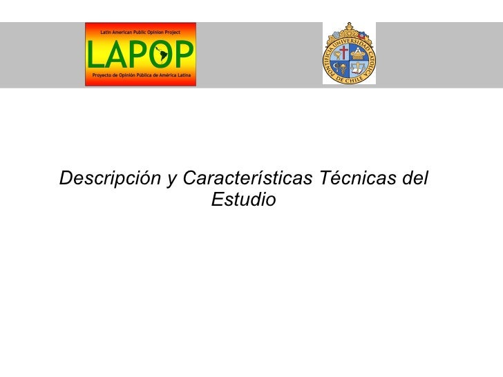 Encuesta LAPOP 2008