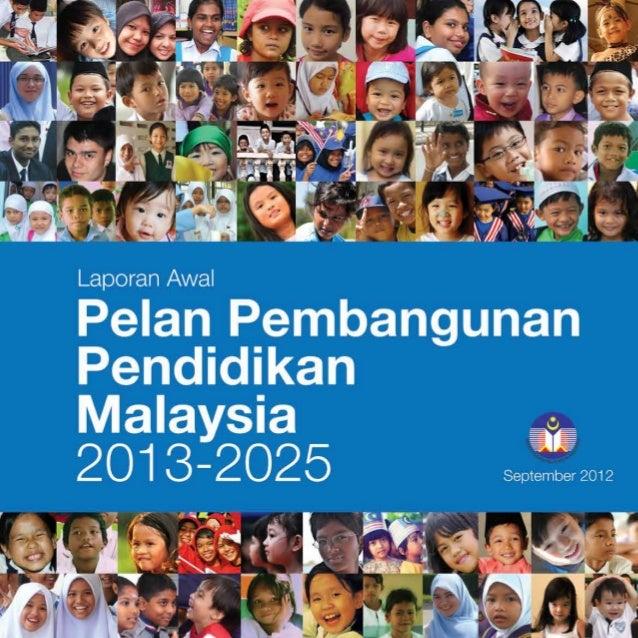 Laporan Awal PPPM 2013 - 2025