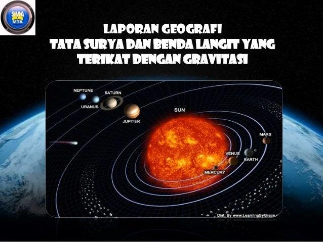 Laporan geografi