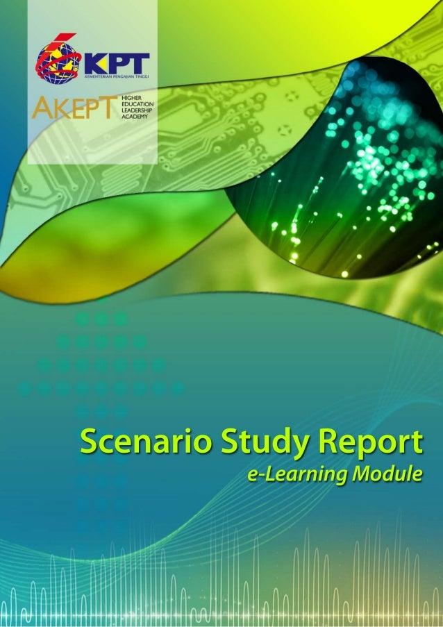 Scenario Study Report: e-Learning Module