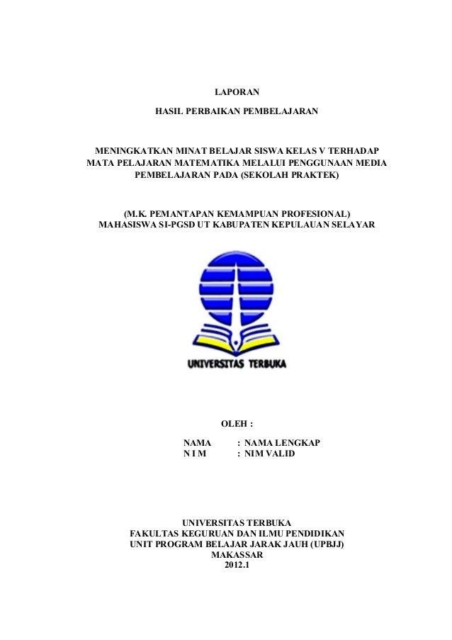 Laporan pkp 2013 revisi