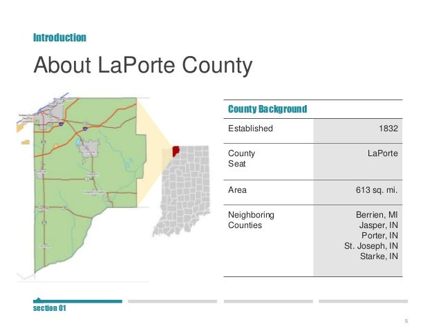 Laporte county snapshot for Laporte county