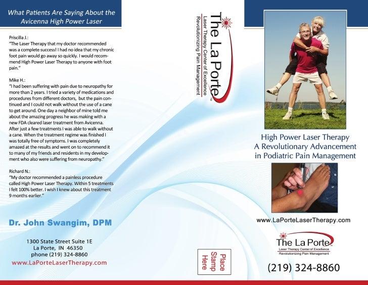 La Porte Laser Therapy Center Brochure