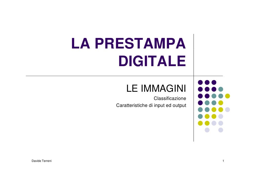 La Prestampa Digitale