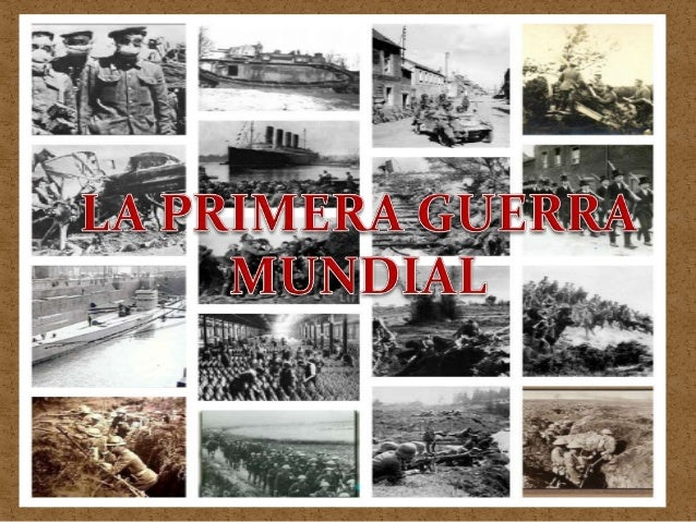La primera guerra mundial                                 Finalment va ser passar a ser unaVa comenár com un              ...