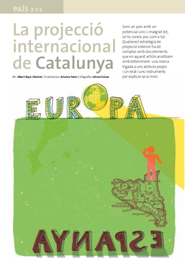 La Projecció Internacional de Catalunya