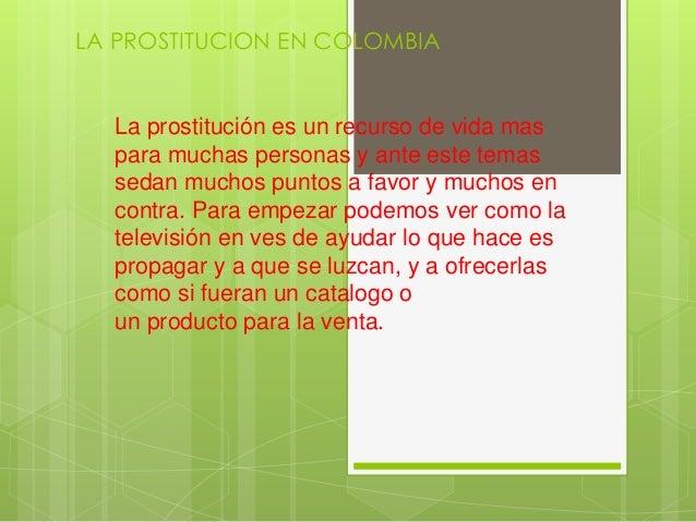 prostitución en colombia prostitutas para minusvalidos