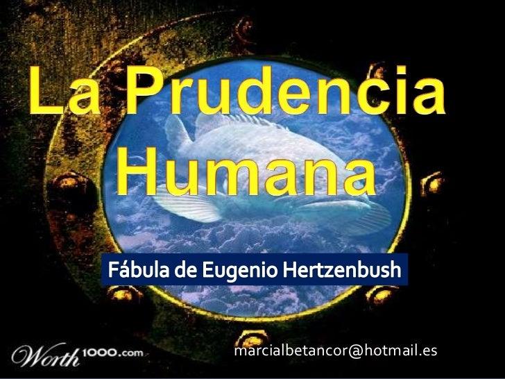 La prudencia humana