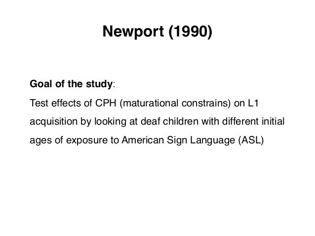 age rate and eventual attainment in The problem of age in second language acquisition: influences from language,  task, and  age, rate and eventual attainment in second language acquisition.