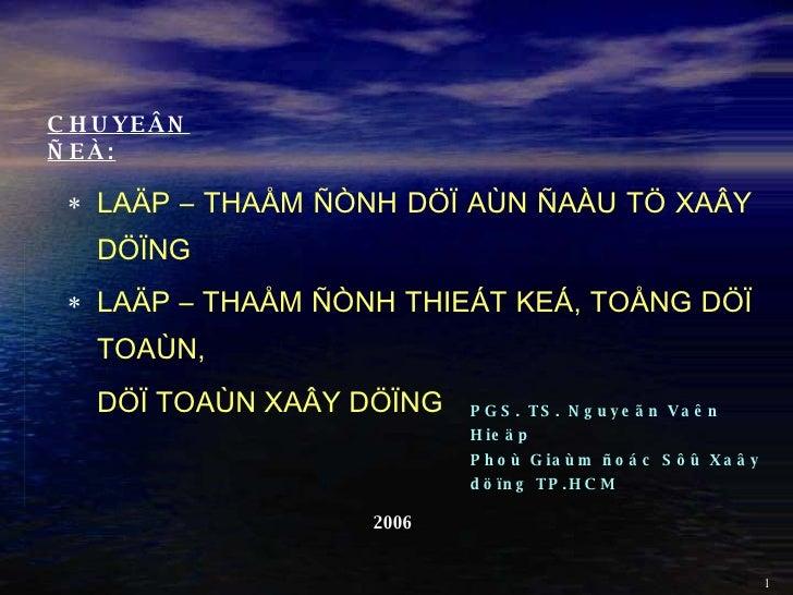 Lap Tham Dinh Da Dtxd 17 11 06