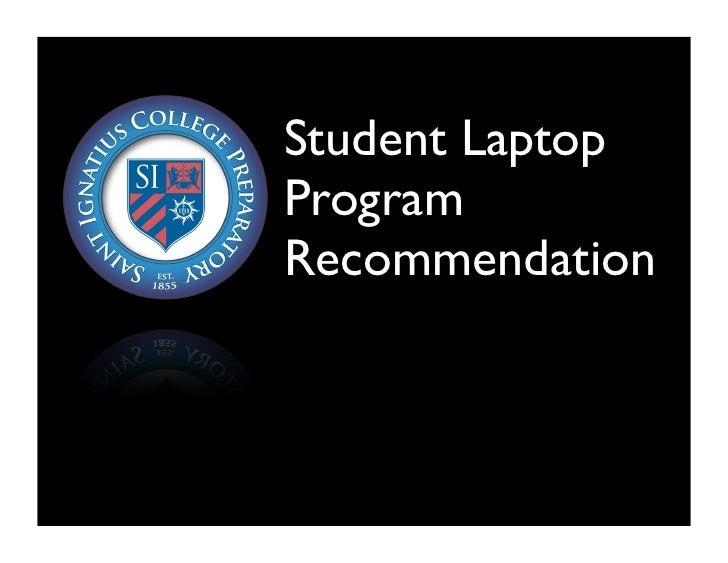 Laptop Proposal Slides