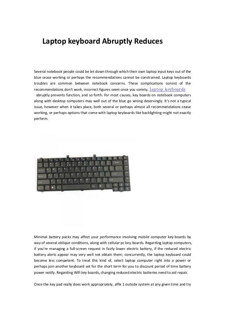 Laptop keyboard www.laptoptown.com