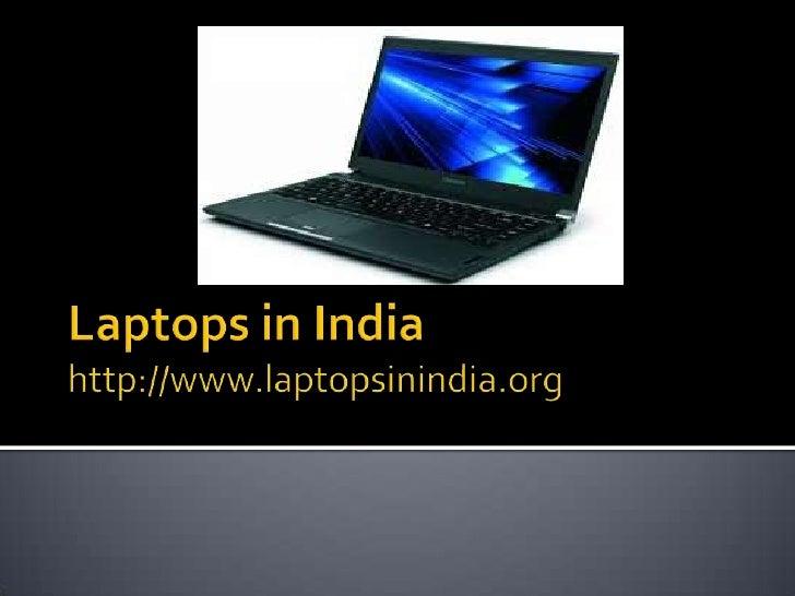 Laptops in india