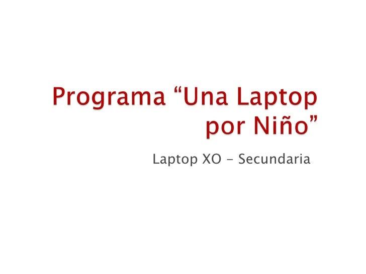 Laptop xo