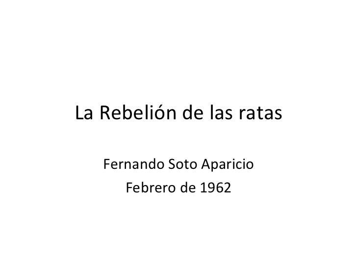 Fernando Soto Aparicio Frases Fernando Soto Aparicio