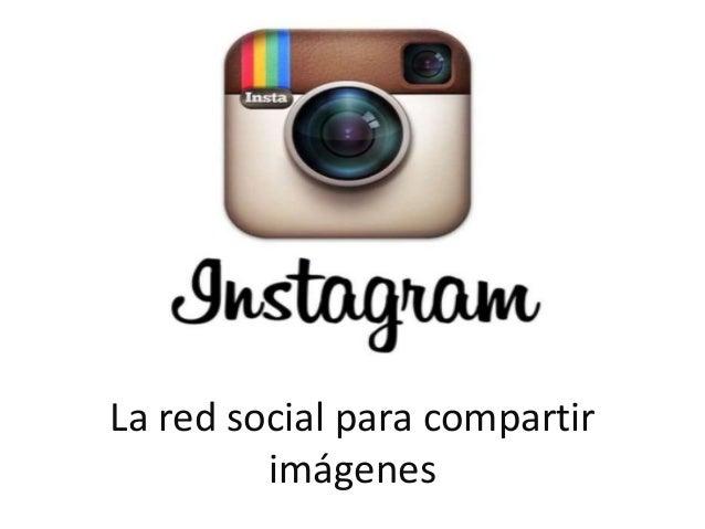 La red social para compartir imágenes