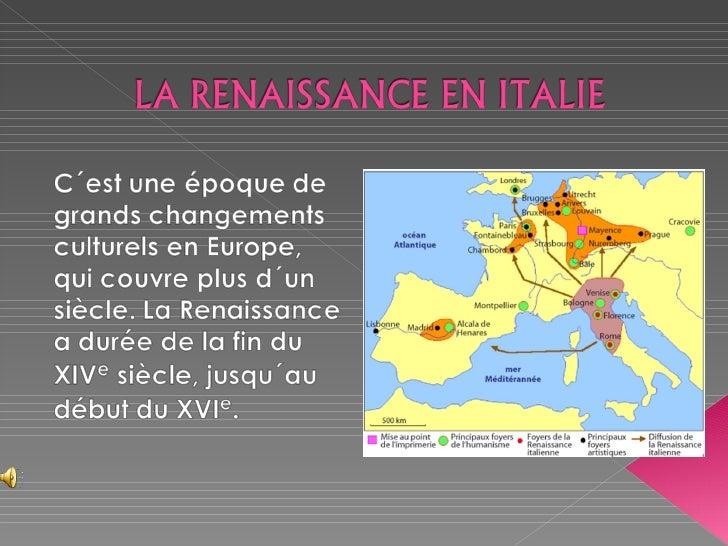  À la fin du Moyen Âge, le sud de l´Italie et  Rome par deux fois centre de l´Empire  romain, sont bien plus pauvres que ...