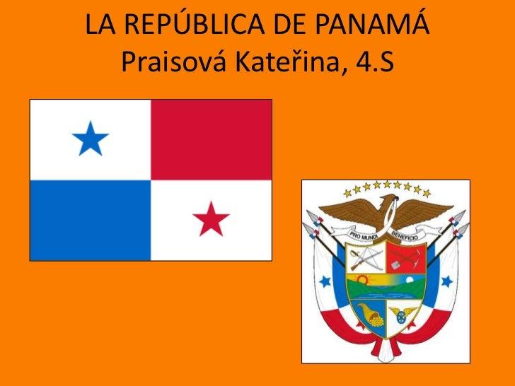 La república de panamá