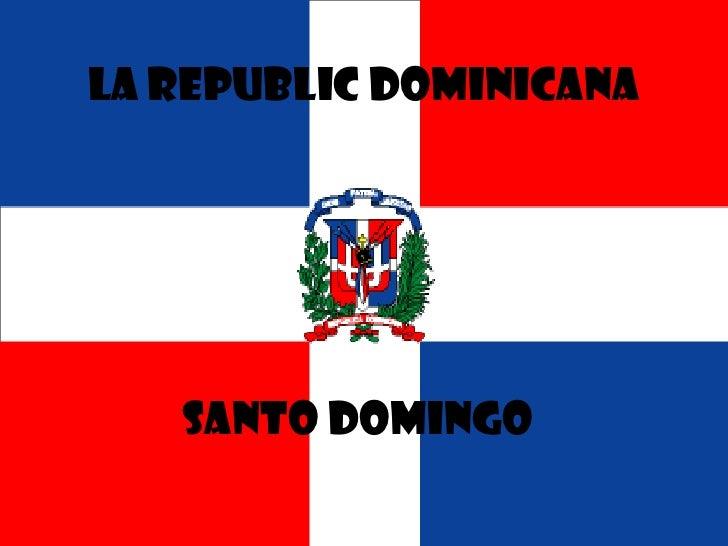 jeanna page<br />01 // 28 // 2011<br />La republic dominicana<br />santo domingo<br />