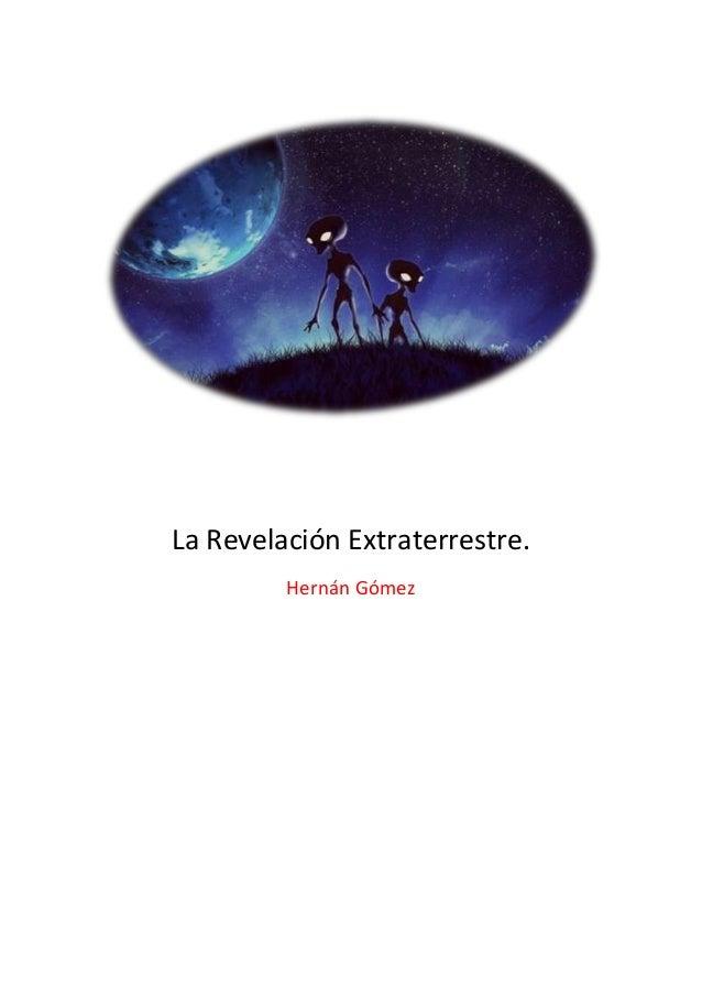 La Revelación Extraterrestre