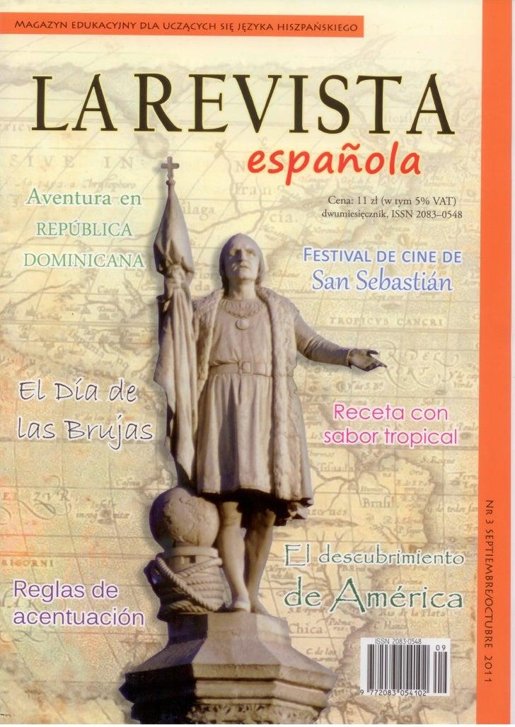La Revista Española - sobre Tamal Asado