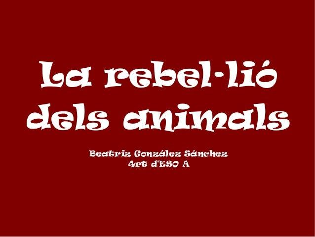 La revolta dels animals
