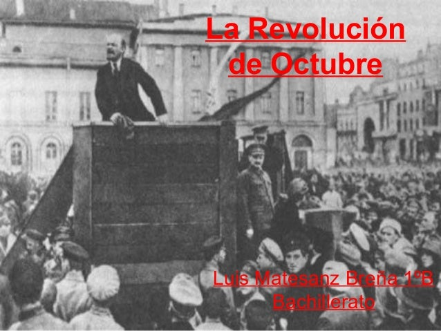 La Revolución de Octubre
