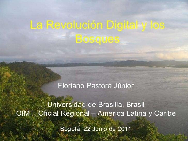 La revolución digital y los bosques - Floriano Pastore
