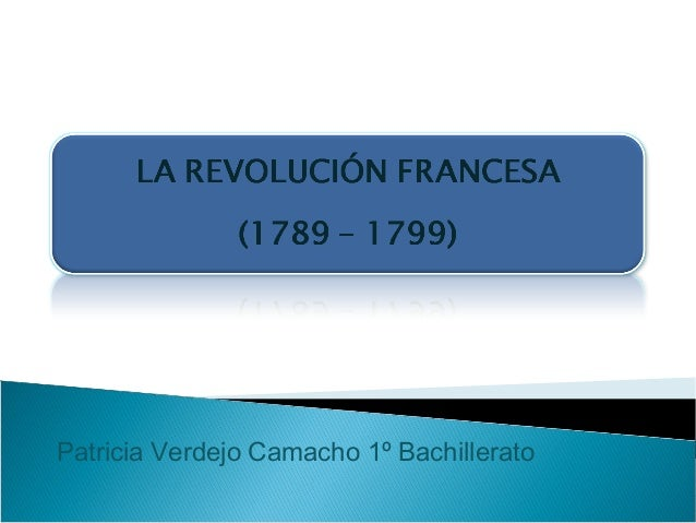 Patricia Verdejo Camacho 1º Bachillerato