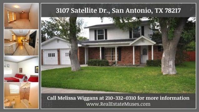 Large 4 Bedroom Home For Sale Near Ft Sam Houston 3107 Satellite Dr