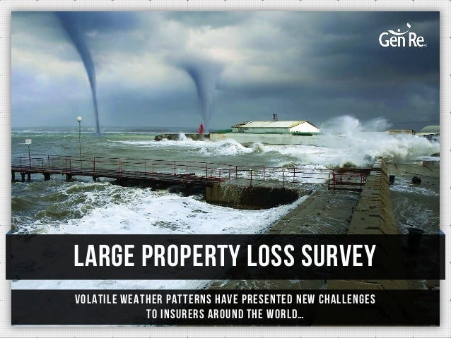 Large Property Loss Survey Volatile weather patterns have presented new challenges to insurers around the world…