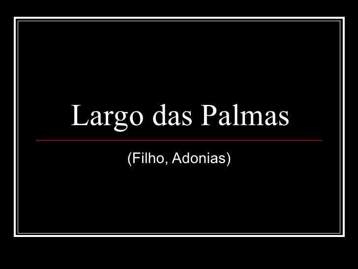 Largo Das Palmas   Cepra   3 V1