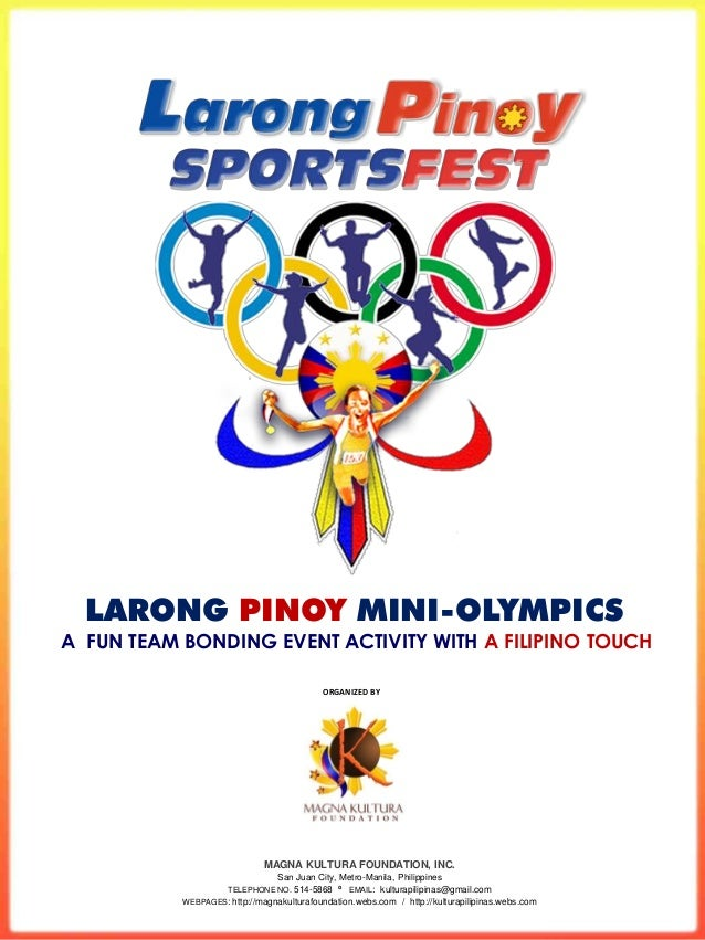 Larong Pinoy Company Team Building Sportsfest