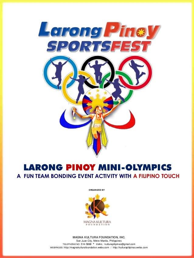 Larong Pinoy Mini-Olympics Company Sportsfest
