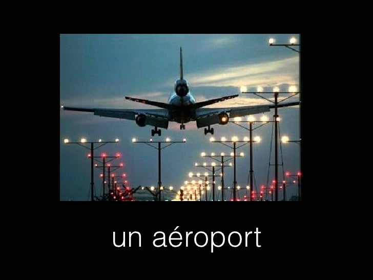 un aéroport