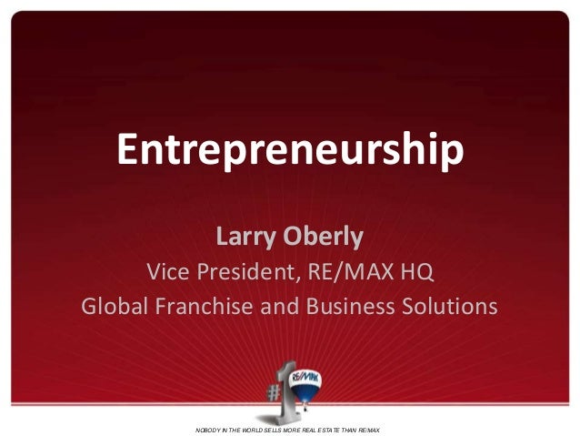 Presentation on Entrepreneurship