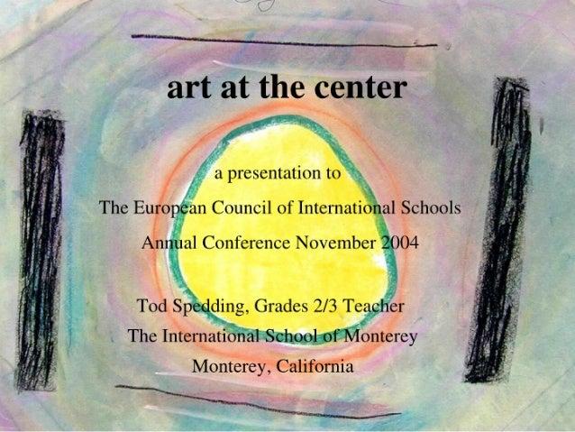L'art au centre 11.16.2004