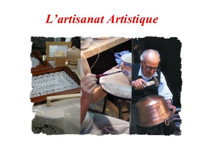 L'artisanat Artistique