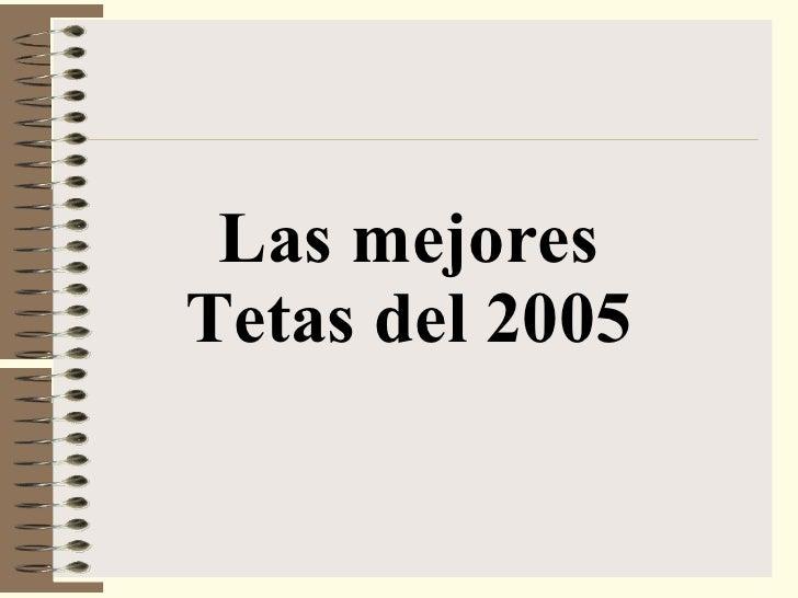 Las mejores Tetas del 2005
