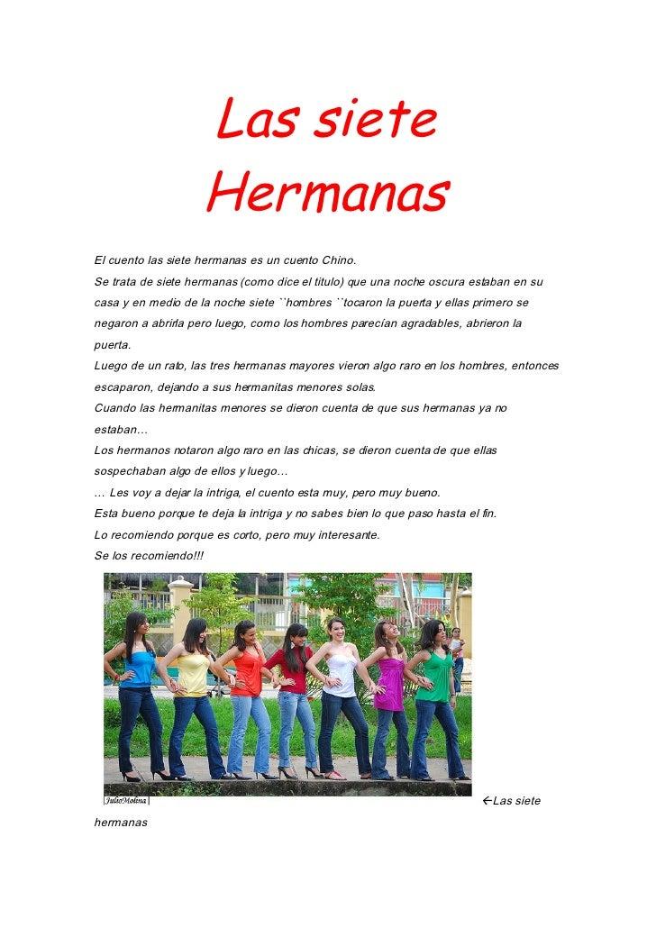 Las Siete Hermanas!!!