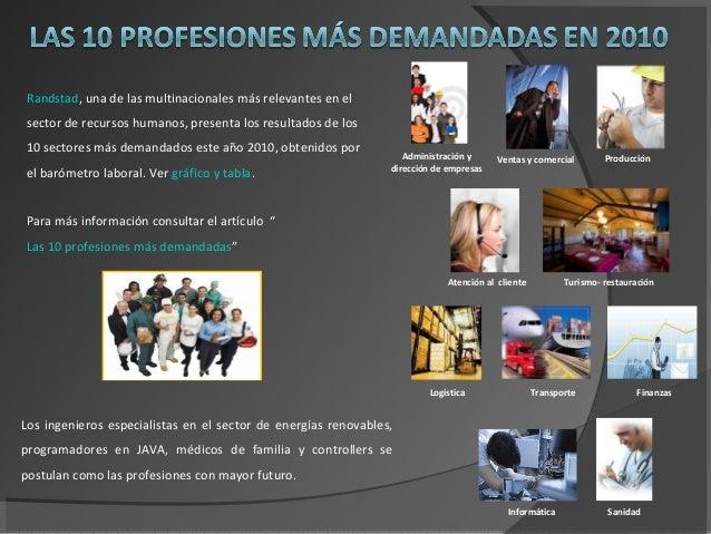 Administración y dirección de empresas Ventas y comercial Producción Atención al cliente Turismo- restauración Logística T...