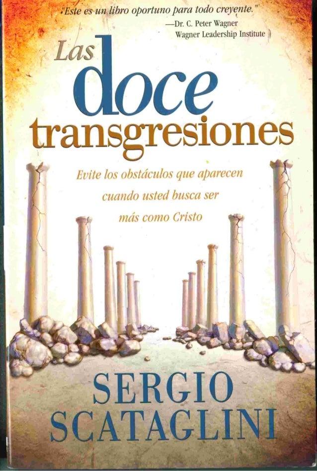 Las 12 transgresiones - Sergio Scataglini