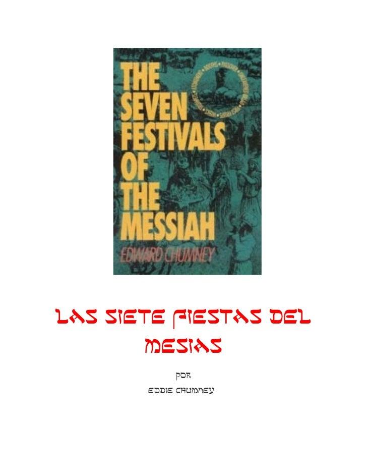 Las 7 fiestas del mesias