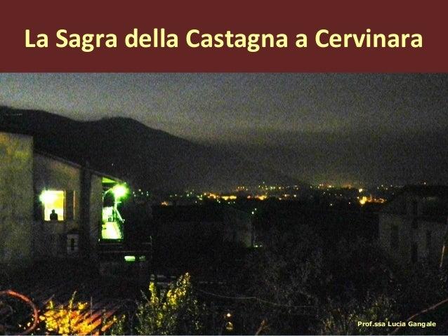 La Sagra della Castagna a Cervinara
