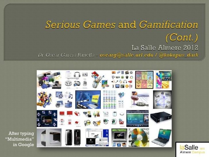 Serious Games Workshop Almere 2012 part 2