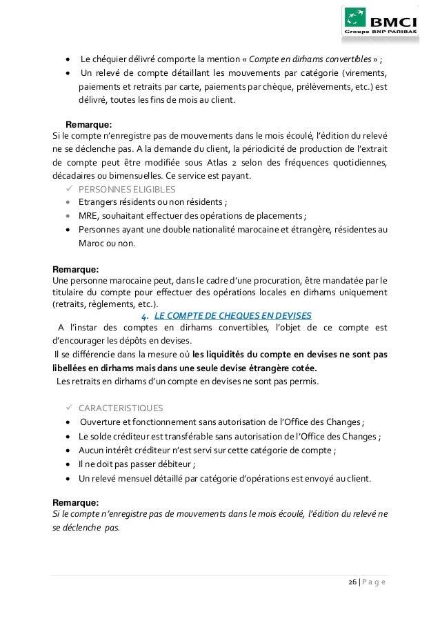 La satsfaction des client bmci marrakech - Report de paiement de 3 mois par cb ...