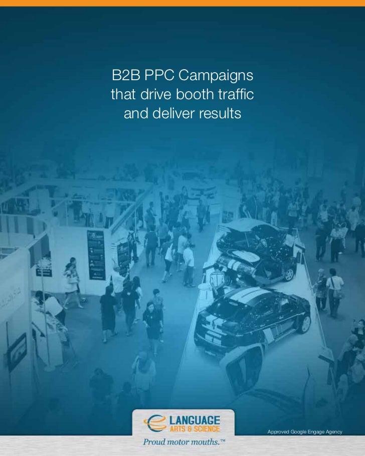 B2B PPC Campaigns that drive Booth traffic