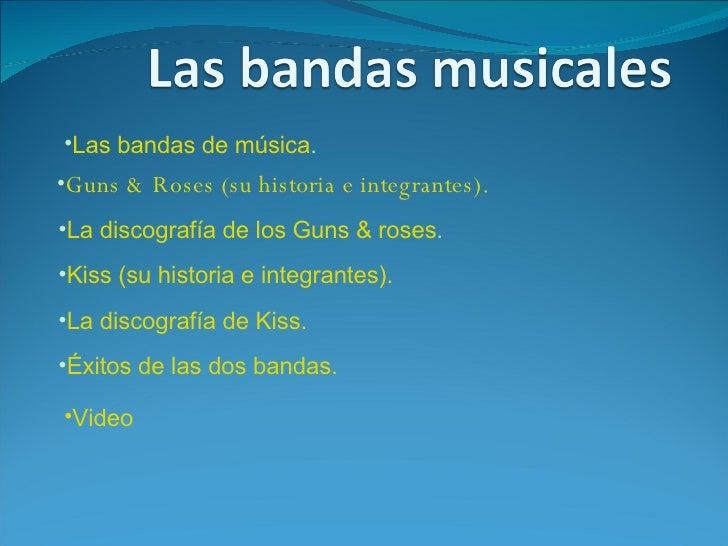 Las Bandas Musicales