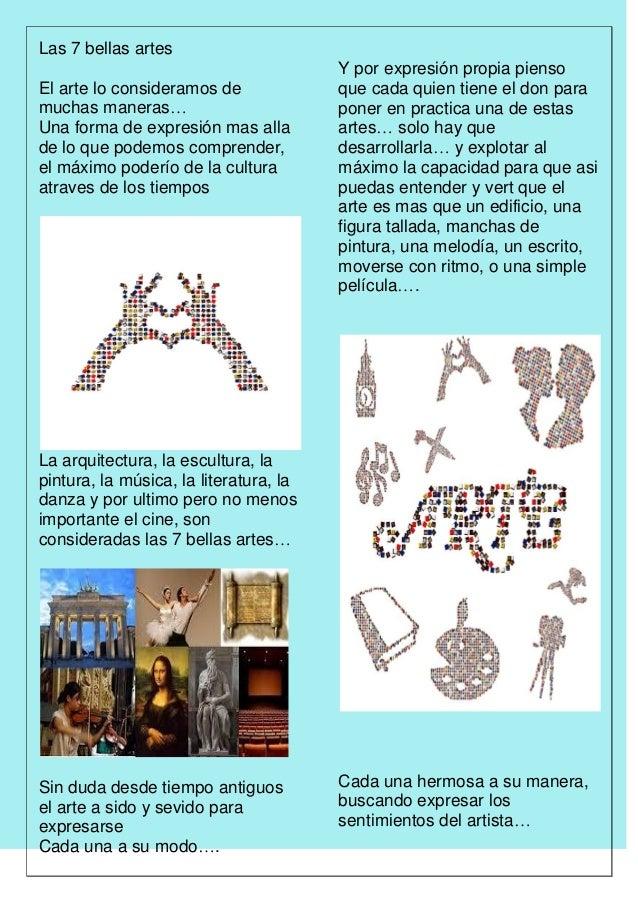 Las bellas artes for Arquitectura 7 bellas artes