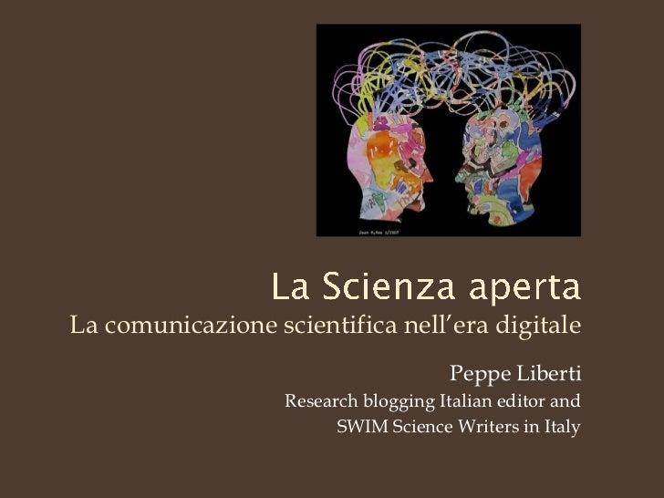 La scienza aperta